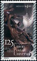 Ref. 59798 * NEW *  - MEXICO . 1999. 125th ANNIVERSARY OF UPU. 125 ANIVERSARIO DE LA UPU - Messico