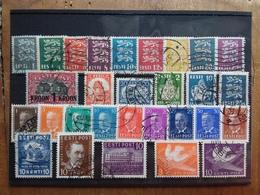 ESTONIA 1928/40 - Lotticino 29 Differenti Timbrati + Spese Postali - Estonia