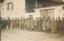 MILITAIRES Du 10em Régiment, Fort De Champvillard, Carte Photo En 1914. - Régiments