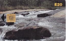 TARJETA DE SWAZILAND DE UN RIO (RIVER) - Swaziland