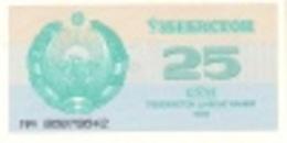 Uzbekistan P.65 25 Sum 1992  Unc - Uzbekistan