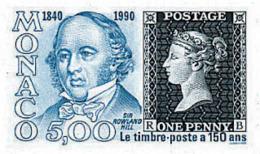 Ref. 77462 * NEW *  - MONACO . 1990. 150th ANNIVERSARY OF FIRST STAMP ISSUE: THE PENNY BLACK. 150 ANIVERSARIO DE LA EMIS - Ohne Zuordnung