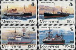 Ref. 175820 * NEW *  - MONTSERRAT . 1984. MAIL SHIPS. BARCOS POSTALES - Montserrat