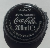 France Capsule Crown Cap Coca Cola Zéro Sucres 200 Ml EAN Code 90357725 - Soda