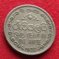 Sri Lanka 1 One Rupee 1972 KM# 136.1 - Sri Lanka