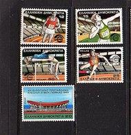 1985 European Indoor Championships MNH Set (268) - Ongebruikt