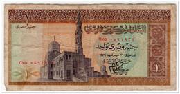 EGYPT,1 POUND,1976,P.44 - Egypt