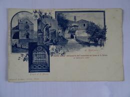 CPA ITALIE  Multivue Ricordo Del 50 Anniversaire Dell'invenzione Del Copo Di S. Chiara 23 Septembre  1900 Dos Simple TBE - Italie