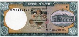 BANGLADESH 20 TAKA 2006 P-40a UNC - Bangladesh
