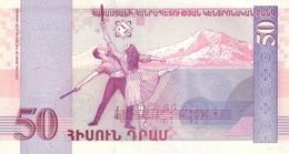 Armenia P.41 50 Dram 1998 Unc - Armenien