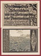 Allemagne 1 Notgeld 25 Pfenning Stadt Aschersleben Dans L 'état Lot N °5878 - [ 3] 1918-1933 : République De Weimar