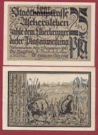 Allemagne 1 Notgeld 25 Pfenning Stadt Aschersleben Dans L 'état Lot N °5879 - [ 3] 1918-1933 : République De Weimar