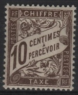 FR/TAX 11 - FRANCE N° 29 Neuf** Type Duval - 1859-1955 Nuovi