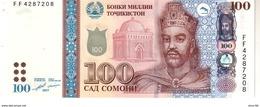 Tajikistan P.27b  100  Somoni 2017 Unc - Tayikistán