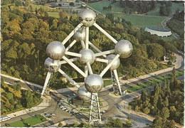 Belgien: Postkarte 1976 Atomium, Brüssel #H49 - Monumenti, Edifici