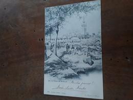 Cartolina Postale, Postcard 1900, En La Feria De Sevilla - Sevilla