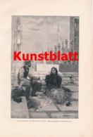 1805 Pagliano Mailand Mailänder Dom Picknick Kunstblatt 1897 !! - Estampes