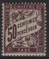 FR/TAX 15 - FRANCE N° 37 Neuf** - Taxes