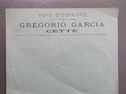 Cette Herault Mr Gregorio Garcia Vins D'Espagne - Petits Métiers