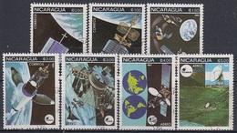 NICARAGUA 2224-2230,used,space - Südamerika