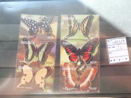 Burundi Serie 1119/24 Papillons / Vlinders Neuf ** - Burundi