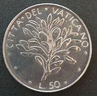 VATICAN - VATICANO - 50 LIRE 1971 - Paul VI - KM 121 - Vatican