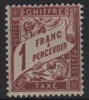 FR/TAX 22 - FRANCE N° 40A Neuf** - 1859-1955 Neufs