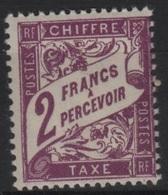 FR/TAX 23 - FRANCE N° 42 Neuf** - 1859-1955 Neufs