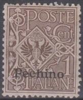 Uffici Postali Italiani In Cina - Pechino 1917 SaN°8 MNH/** Vedere Scansione - Bureaux Etrangers
