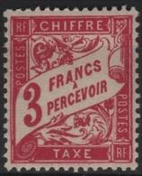 FR/TAX 24 - FRANCE N° 42A Neuf** - Taxes