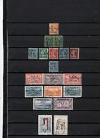 18 TIMBRES SYRIE OBLITERES DE 1920 à 1968    Cote : 22,30 € - Syrie