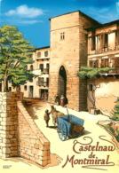 CASTELNAU DE MONTMIRAL  Cité Médiévale Porte Des Garrics  1 (scan Recto-verso) KEVREN0643 - Castelnau De Montmirail