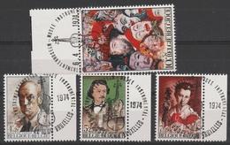 1708/1711 Culturele Gestp/oblit - België