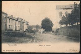 FLORENVILLE  LA RUE DU CHATEAU - Florenville