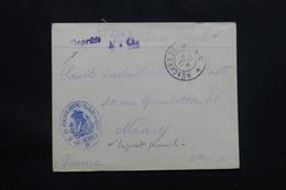 FRANCE - Enveloppe De Prisonnier De Guerre Français En Allemagne En 1915 Pour Nancy - L 57122 - Guerre De 1914-18