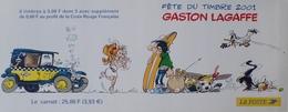 PTT/853 - 2001 - GASTON LAGAFFE - CARNET NEUF** N°BC3370 - Carnets