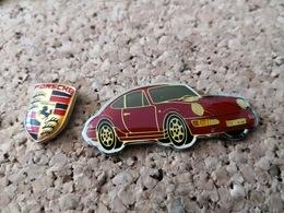 2  Pins Voiture Porsche - Other
