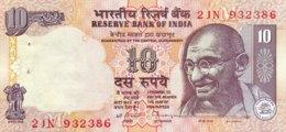 India 10 Rupees, P-89c (1996) - UNC - Sign.87 - Indien