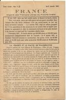 GUERRE 39/45 .FRANCE . ORGANE DES FRANCAIS LIBRES DU PROCHE ORIENT. 1942 .RARE - Documents