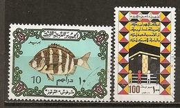 Libya 201- Kaa'ba Poisson Fish Obl - Libye