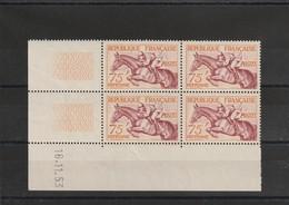 France Coin Daté Du N° 965  Hippisme ** 1953 - 1950-1959