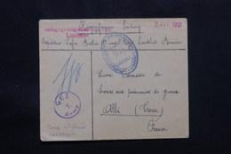FRANCE - Enveloppe De Prisonnier De Guerre Français En Allemagne En 1917 Pour La France, Voir Cachets - L 57127 - Guerre De 1914-18