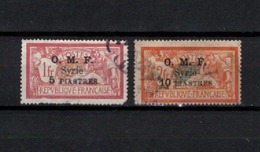 N° 71 & 72 TIMBRES SYRIE OBLITERES DE 1920    Cote : 30,25 € - Syria