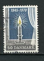 DANEMARK : NOEL N° Yvert 502 Obli. - Danimarca
