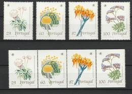 PORTUGAL 1989 YT N° 1780 à 1783 + 1780a à 1783a ** - Neufs
