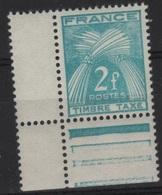 FR/TAX 37 - FRANCE N° 82 Neuf** - Taxes