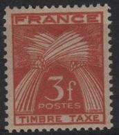 FR/TAX 40 - FRANCE N° 83 Neuf** - 1859-1955 Neufs