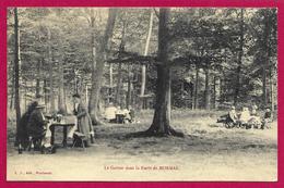 CPA Forêt De Mormal - Le Goûter Dans La Forêt De Mormal - France