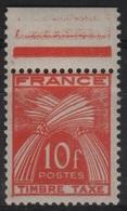FR/TAX 47 - FRANCE N° 86 Neuf** - 1859-1955 Neufs