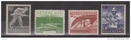 NVPH Nederland Netehrlands Pays Bas Niederlande, Holanda 428 429 430 431 MNH Bevrijdingszegels 1944 ALSO PER PIECE - Ongebruikt